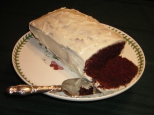 Auntie's chocolate cake