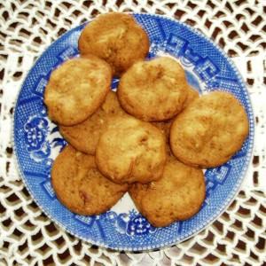 Chunky Pecan Praline Cookies