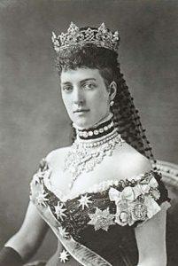 Queen Alexandra Portrait (photo by Alexander Bassano, May 5, 1881)