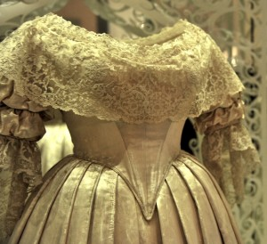 Queen Victoria's wedding dress, 1840