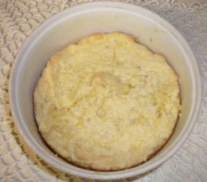 Cheese souffle, a comfort food