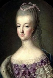 Marie Antoinette enjoyed baking Meringues.